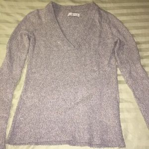 Abercrombie & Fitch Gray sweater